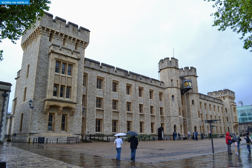 Лондон. Казармы Ватерлоо (Waterloo Barracks) в Тауэре