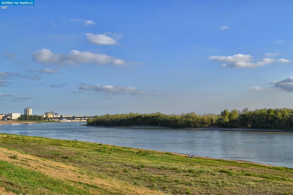 омск правый берег иртыша фото города двухэтажные