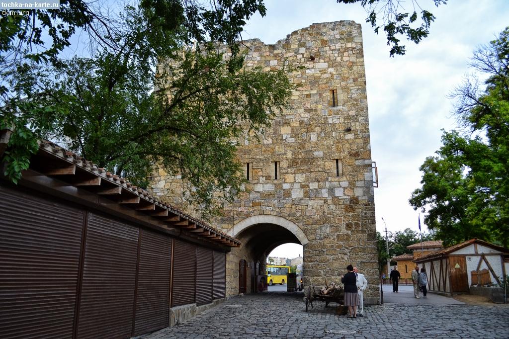 Гезлевские ворота в Малом Иерусалиме, Евпатория