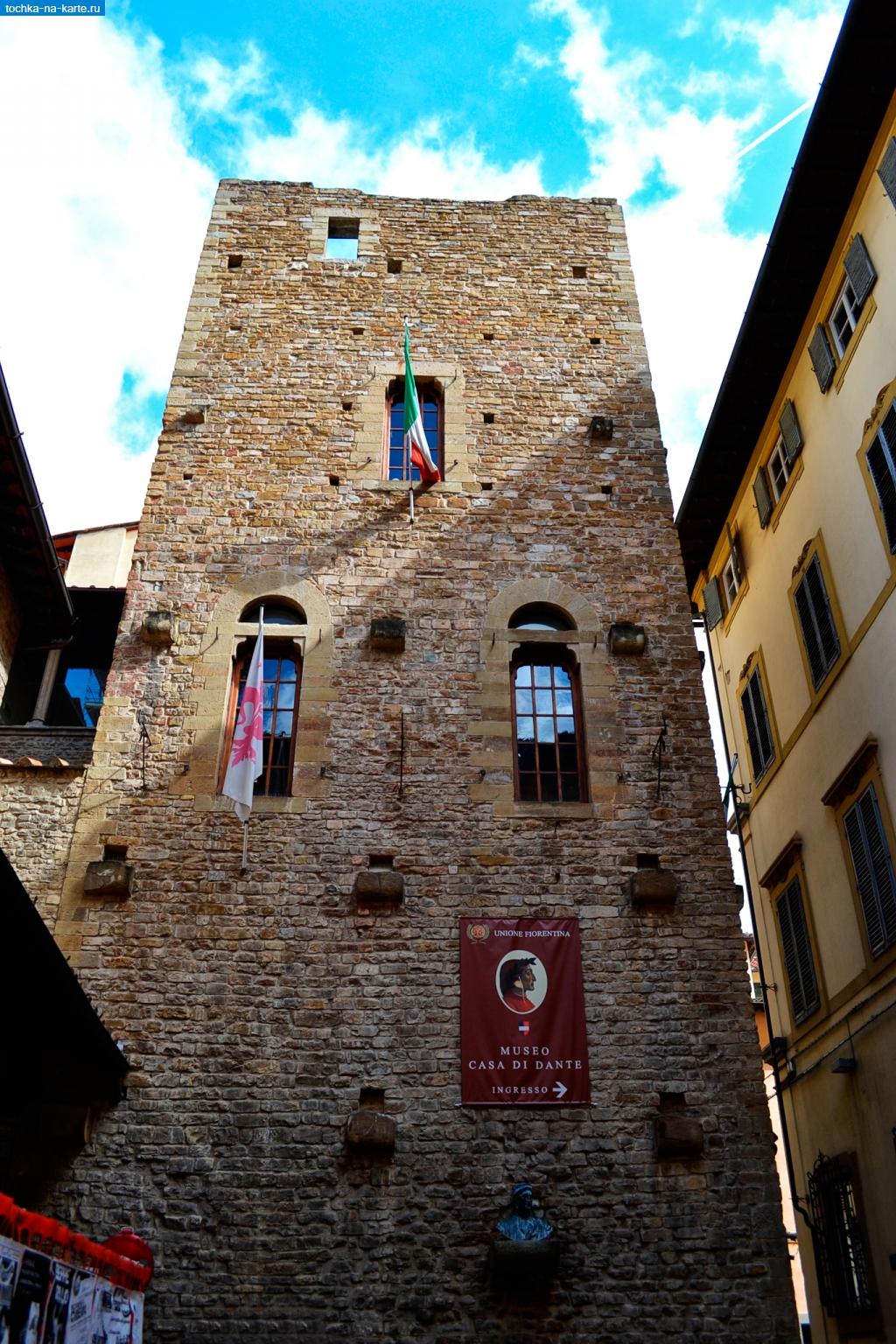 Тоскана дом музей данте алигьери во