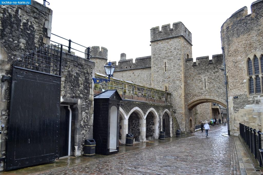 Лондон стены тауэра в лондоне