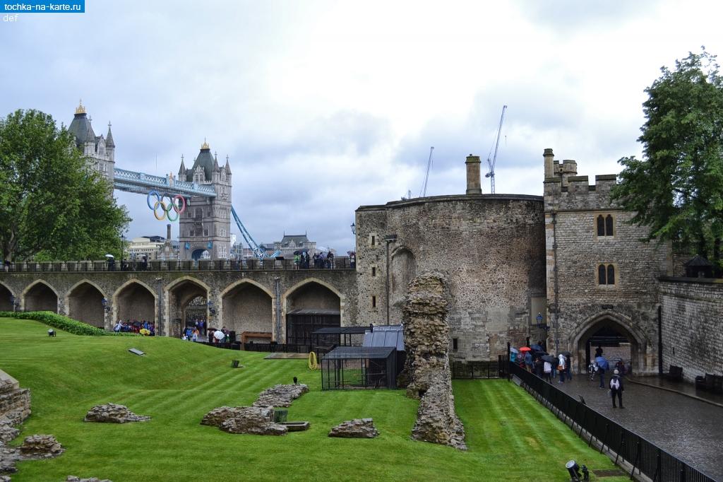 Лондон кровавая башня в тауэре и