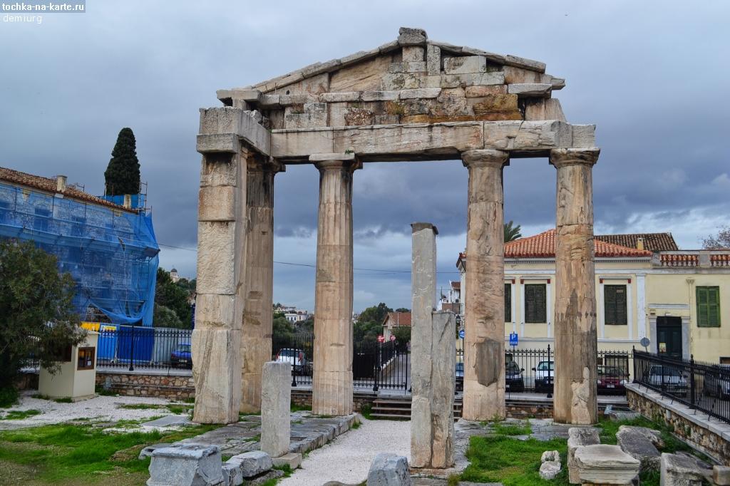 План афина