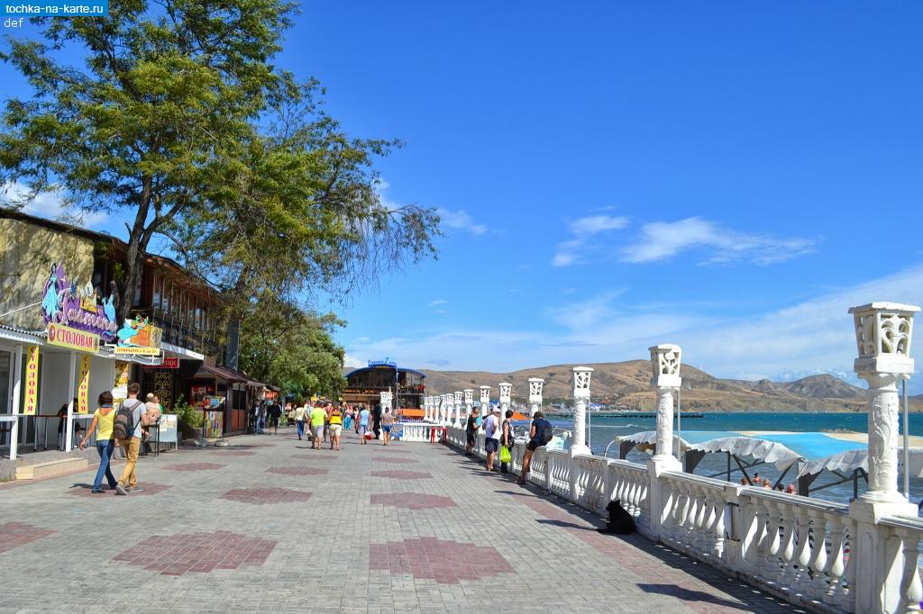 крым посёлок коктебель фото