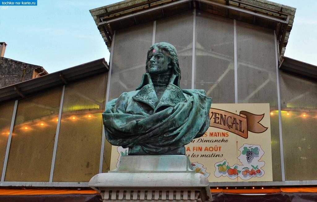 Франция памятник генералу шампионне